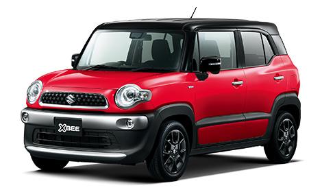 Suzuki Xbee Red Kei Car