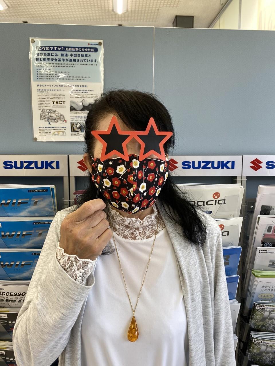 自慢 マスク