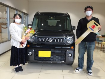 K様のスペーシアギア、ご納車させて頂きました!