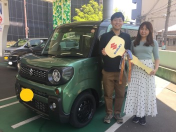 ☆Y様スペーシアギアご納車☆