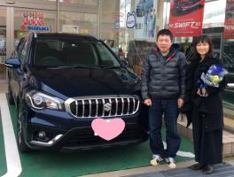 SX4 S-CROSS ご納車