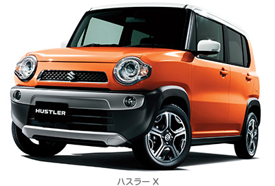 日本カーオブザイヤー2014 決定 スズキの軽自動車SUV「ハスラー」